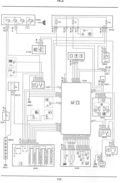 citroen c4 1 6 hdi wiring diagram wiring diagram with