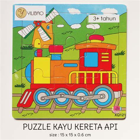 Mainan Edukatifedukasi Anak Puzzle Kereta Kayu puzzle kayu kereta api magenta room
