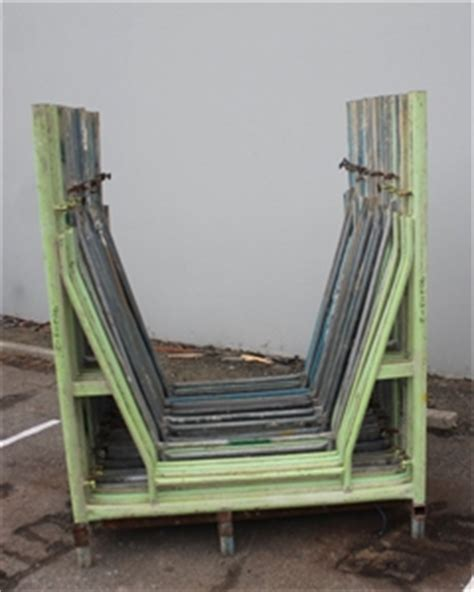 a frames for sale stillage of scaffolding quot a quot frames auction 0002 9003157