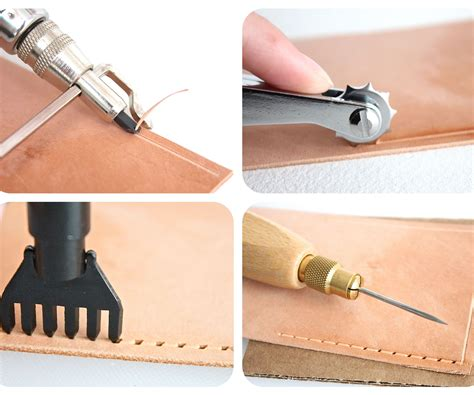 how to do a sew in to cover shaved sides how to prepare leather for sewing 3