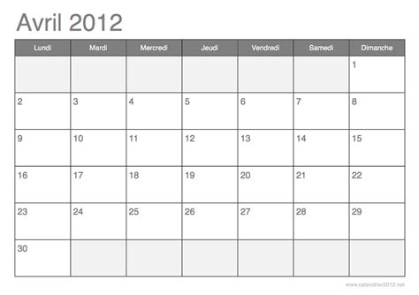Calendrier Mois Calendrier 2012 New Calendar Template Site
