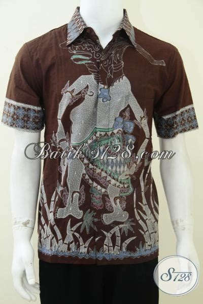 Hem Punakawan kemeja batik wayang corak petruk punakawan ld1801t m toko batik 2018