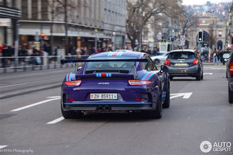 Porsche Boxster Gts And Cayman Ultraviolet Blue Porsche 911 Gt3 Rs In Martini Livery