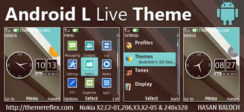 cute themes for nokia x2 02 android l live theme for nokia x2 00 x2 02 x2 05 x3 00