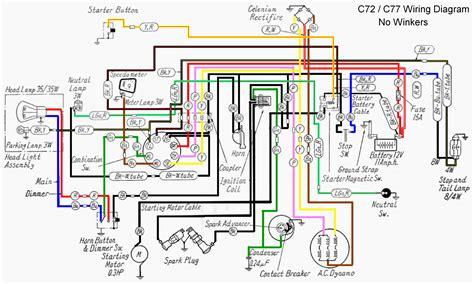 honda 125s wiring diagram honda c 200 wiring diagram