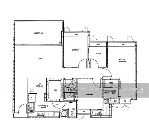 waterfront key floor plan waterfront key 780 bedok reservoir road 3 bedrooms 1389