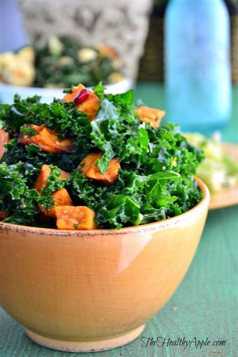 Kale Apple Green Detox Salad by Easy Healthy Recipes Detox Recipes