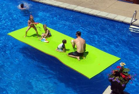 Floating Pool Mats by Floating Mats For Swimming Pools Xpe 4 6 Meter Wooppi