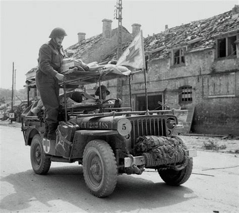 World Jeep Service An Ambulance Jeep Of The Royal Canadian Army Corps
