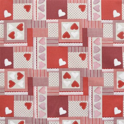 patchwork upholstery fabric patchwork upholstery fabric canvas fabric patchwork heart