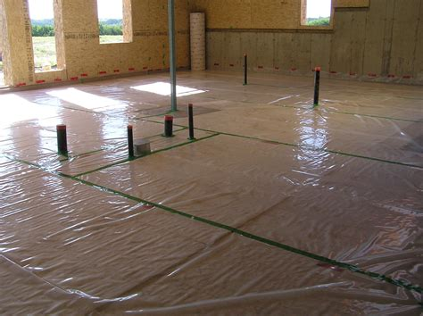 basement floor slab 171 cottonwood passive house