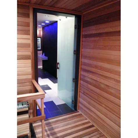 Glass Sauna Door For Commercial Saunas Spas Glass Sauna Door