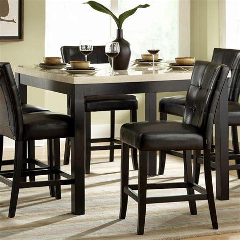 Dining Room: appealing black kitchen table set Kitchen