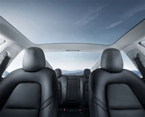 Roof Upholstery by Tesla Model 3 Minimalistic Interior Business Insider