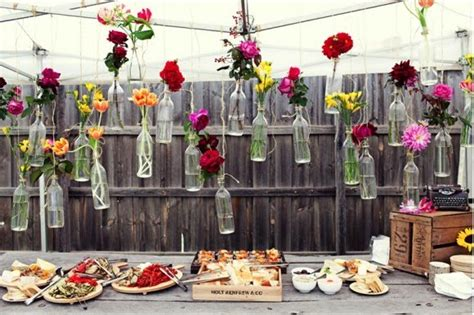 diy backyard wedding ideas steffinator s blog this sunny wedding is bold and vibrant