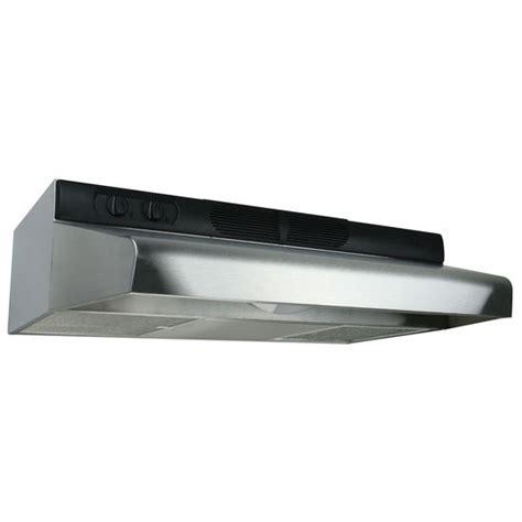air cabinet mount range hoods energy deluxe cabinet mount