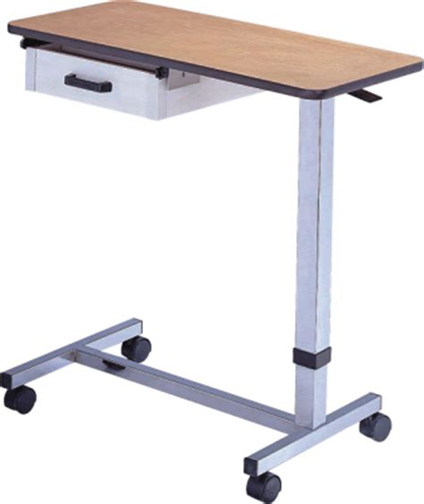 overbed table with drawer trident pharm