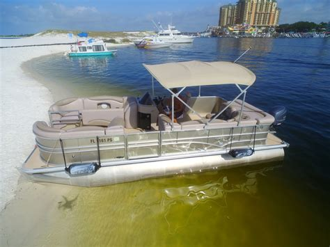 charter boat rental destin fl paradise pontoon boat rentals captain services in