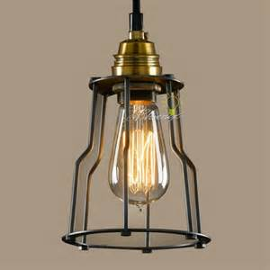Copper Wall Sconce Loft Industrial And Iron Line Art Pendant Lighting 7794