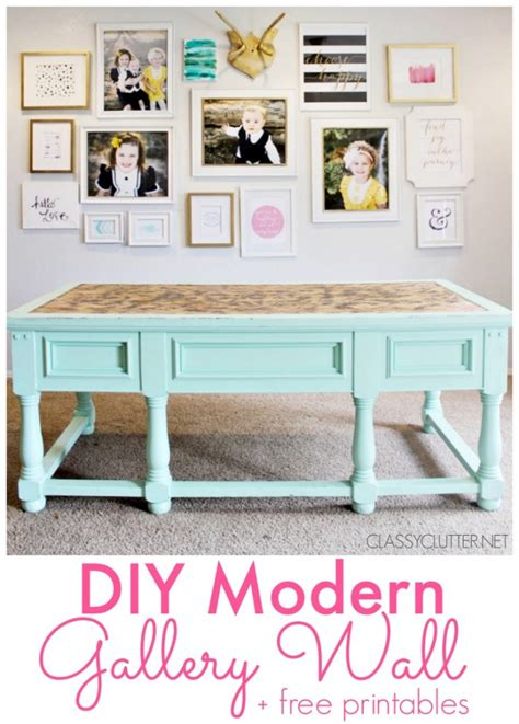 modern diy wall gallery wall inspiration and tips
