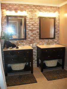 bathroom with two separate vanities separate vanity keeps husband s mess contained and