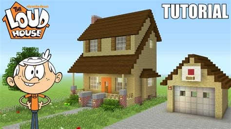 how do you make a house the loud house minecraft tutorial how to make quot the loud