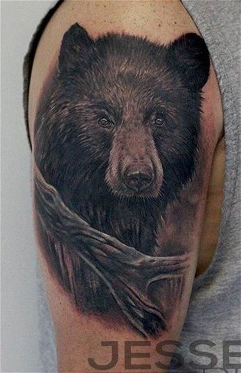bear face tattoo 25 best ideas about black on