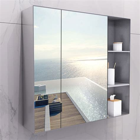 bathroom mirror with storage usd 81 61 bathroom mirror cabinet toilet storage toilet bathroom toilet vanity mirror wall