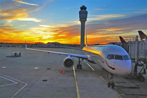 atlanta s thriving air transportation industry employment and wages 1990 2010 beyond the