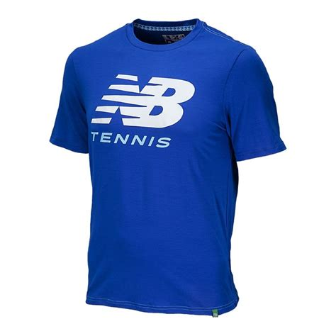 Tshirtt Shirtkaos New Balance 4 new balance big brand mens tennis t shirt cobalt