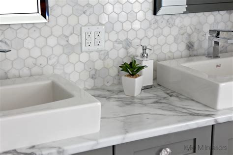 White Marble Bathroom Ideas by Formica 180fx Calacatta Marble Laminate Countertop With