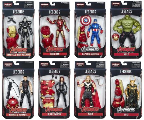 libro marvels avengers age of marvel legends series 6 quot avengers age of ultron baf hulkbuster figure set ebay