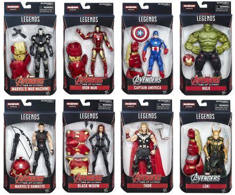 Pajangan Figure Marvel Set 6 marvel legends series 6 quot age of ultron baf