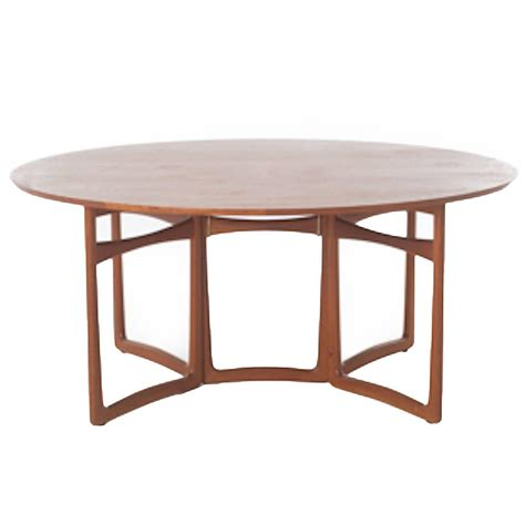 vintage danish modern teak gateleg table at 1stdibs