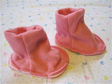 como hacer zapatos para bebe de tela como hacer zapatos de bebes todo manualidades