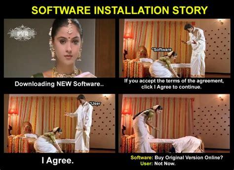 Meme Software - meme 342 software installation story pvr memes