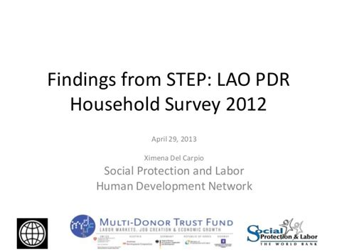 multi donor trust fund on labor markets creation and economic gr