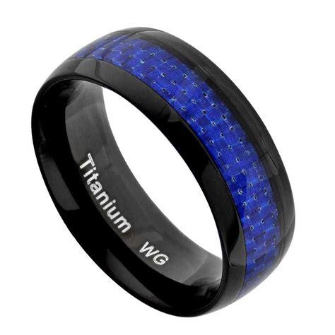 Cincin Kawincincin Tunangancincin Pernikahan Black Green titanium wedding rings titanium wedding band ring carbon fiber silver black green blue
