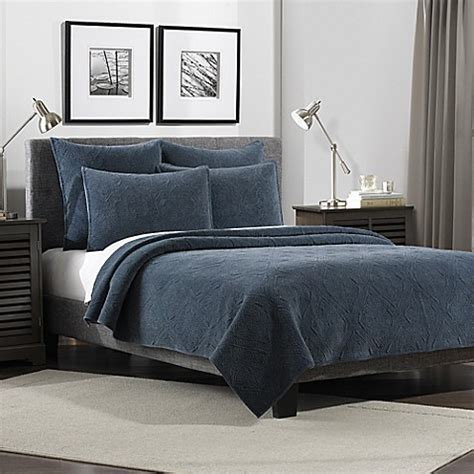 flat iron lynden velvet quilt bed bath beyond