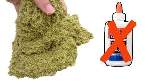 membuat pasir kinetik  tepung gom  pasir ajaib
