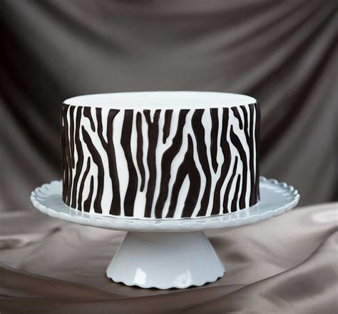Cake Decorating Ideas For Zebra Print Zebra Onlay 3d Stencil For Cake Decorating And Arts Crafts