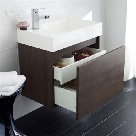 600mm bathroom vanity unit basin sink cabinet wall hung