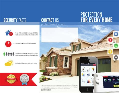 protect america security system brochure