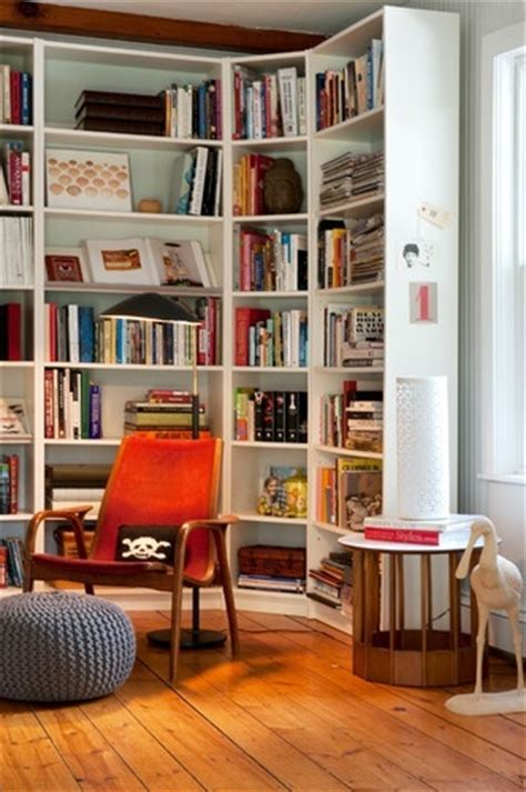 Billy Bookcase Corner Unit Billy Bookcases Can Even Wrap Around A Corner Space Living Rooms Ikea Billy