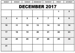 december calender 2017 printable loving printable