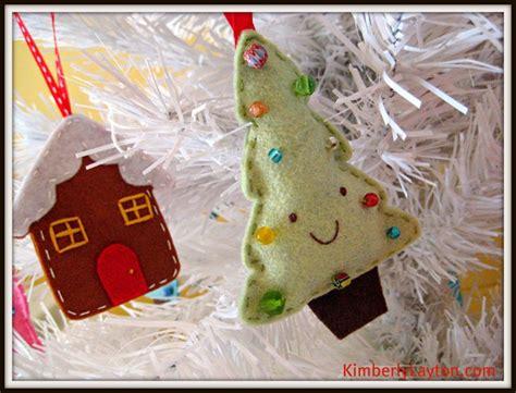 patterns felt christmas tree ornaments felt christmas ornaments