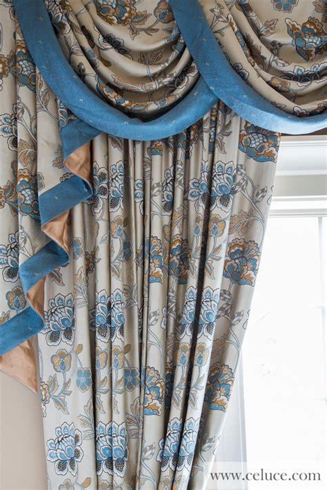 iranian curtains persian garden half overlapping swag valance curtains