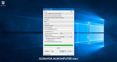 cara cepat membuat bootable usb windows xp cara membuat bootable usb windows menggunakan rufus