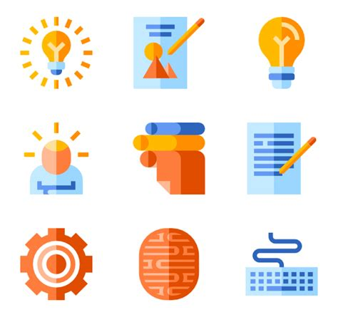 design thinking icon 4 953 icon packs for free vector icon packs svg psd