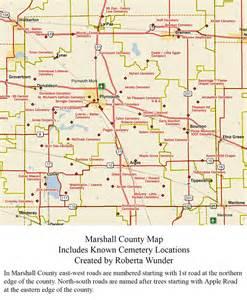 map marshall cemeteries